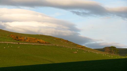 The farm at Yetholm.