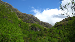The entrace to Glen Nevis