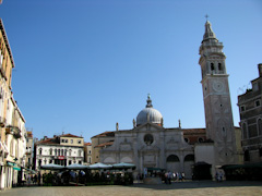 Santa Maria Formosa and the first gelato stop.