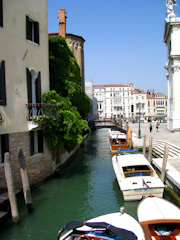 Scenic canal