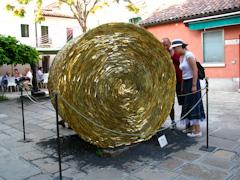 Glass sculpture at Murano