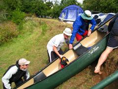 Canoe Vaulting
